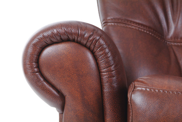 [Translate to Corporate Website:] Retro Leather Couch